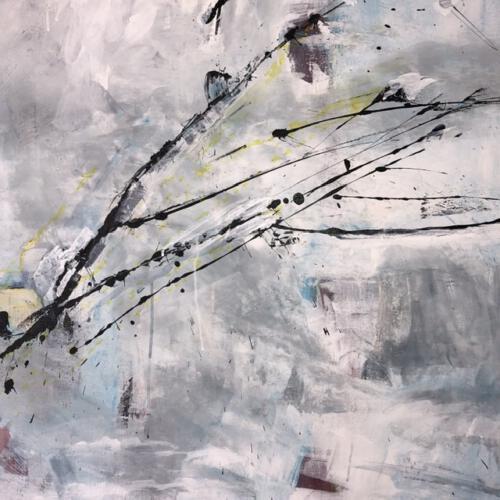 Dynamik - Acryl - 80 x 80