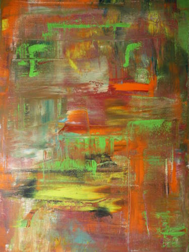Spiegelung II - Öl auf Leinwand - 30 x 40