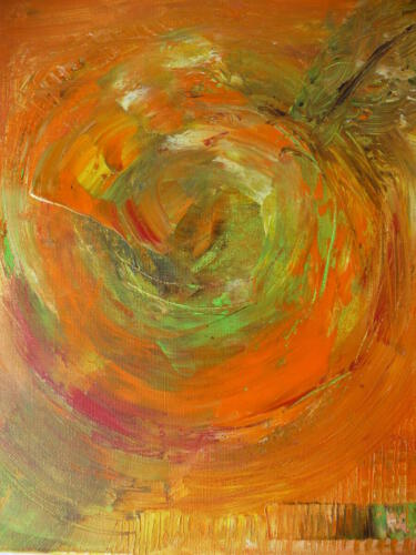 Frucht - Öl auf Leinwand - 23 x 30